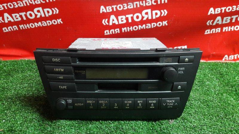 Магнитола Toyota Mark Ii JZX115 1JZ-GE 2001.04 86120-2a430, без крепления.