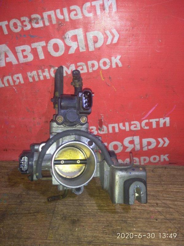 Заслонка дроссельная Toyota Liteace Noah KR42V 7K-E 01.2004 ДХХ 22270-06020, ДПЗ 89452-0A010