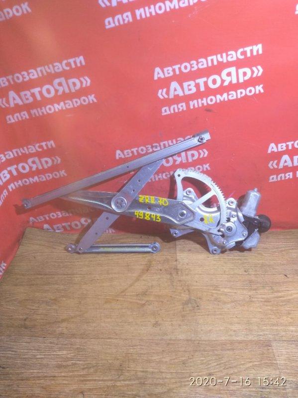 Стеклоподъемник Toyota Voxy ZRR70W 3ZR-FAE 08.2007 задний правый