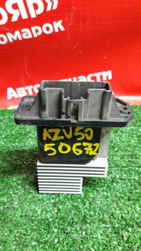 Реостат печки Toyota Vista AZV50G 1AZ-FSE 499300-2090