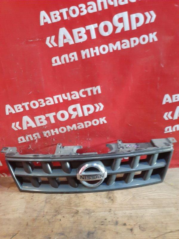 Решетка радиатора Nissan X-Trail NT31 MR20DE 03.2008