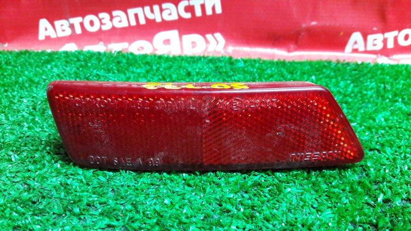 Катафот в бампер Nissan Note E11 HR15DE левый Левый 7482