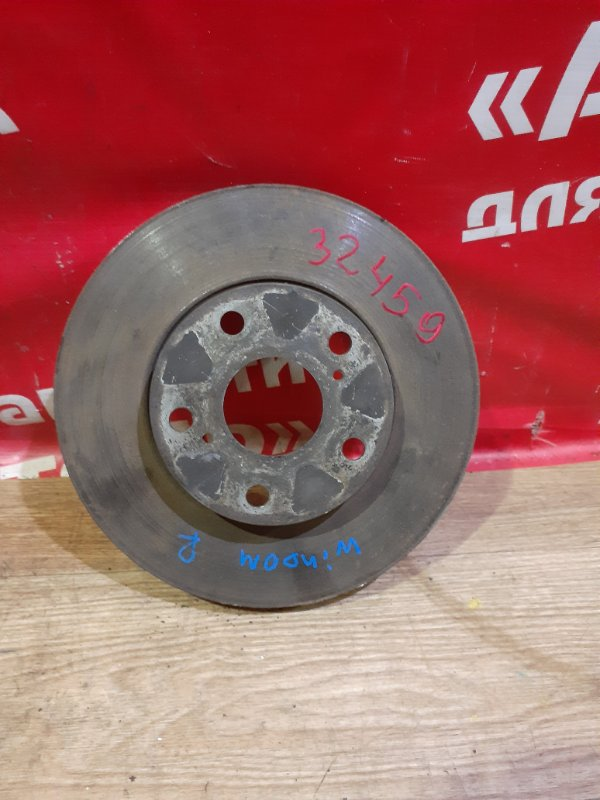 Диск тормозной Toyota Windom MCV20 1MZ-FE 1996 передний правый