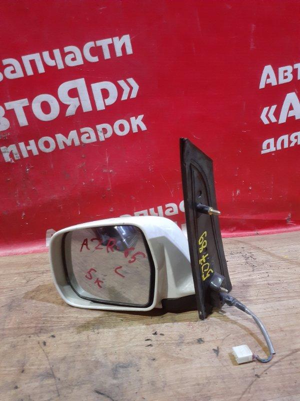 Зеркало Toyota Noah AZR65G 1AZ-FSE левое 5 контактов.