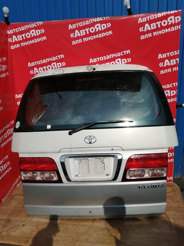 Дверь задняя Toyota Regius RCH47W 3RZ-FE 10.1999 В сборе