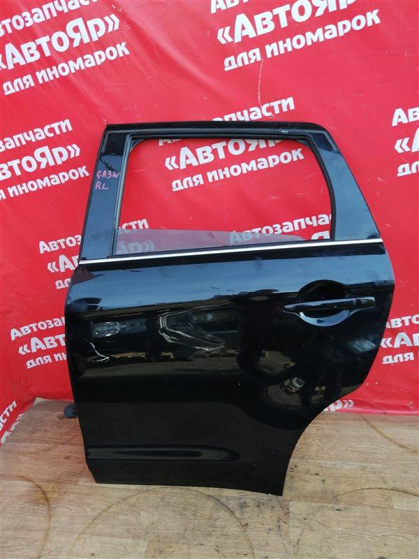 Стекло боковое Mitsubishi Asx GA3W 4B10 03.2011 заднее левое Опускное.