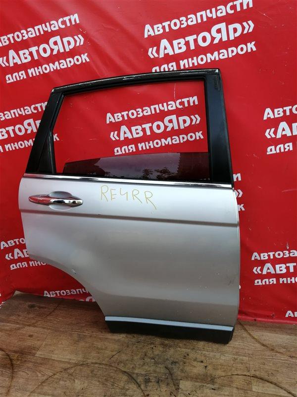 Стекло боковое Honda Cr-V RE4 K24A 2009 заднее правое Опускное.