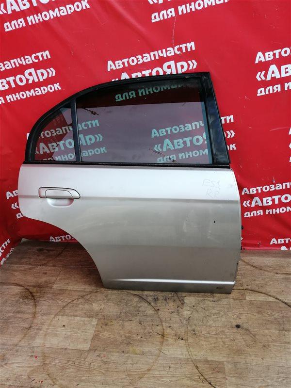 Дверь боковая Honda Civic Ferio ES1 D15B 2001 задняя правая Цена в сборе, без петель.