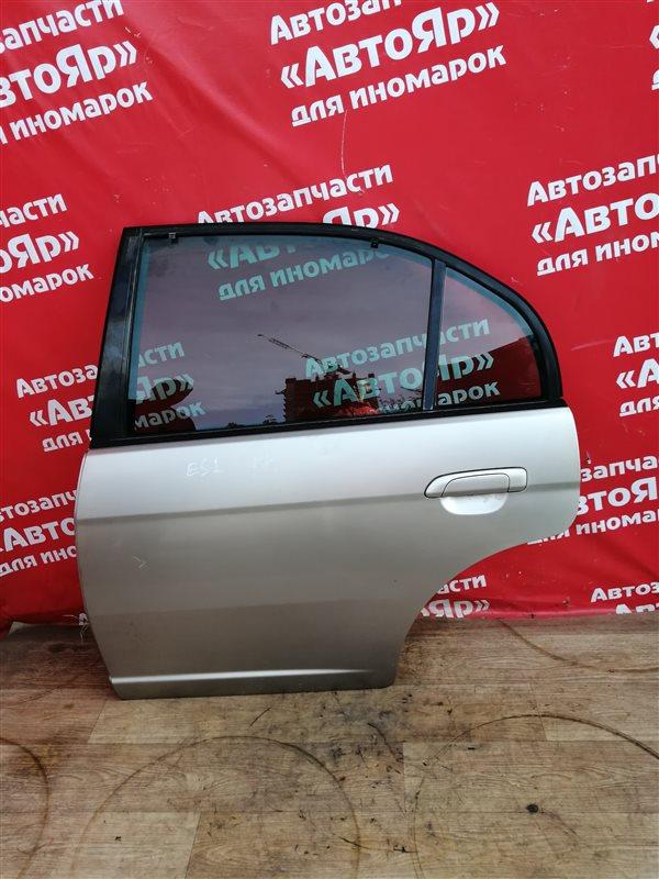 Дверь боковая Honda Civic Ferio ES1 D15B 2001 задняя левая Цена в сборе, без петель.