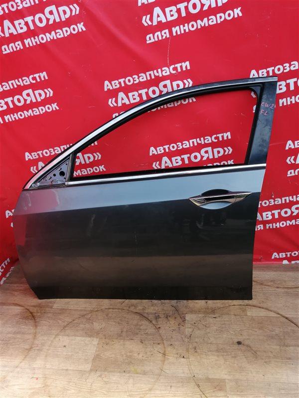 Стекло боковое Honda Accord CU2 K24A 2008 переднее левое Опускное.