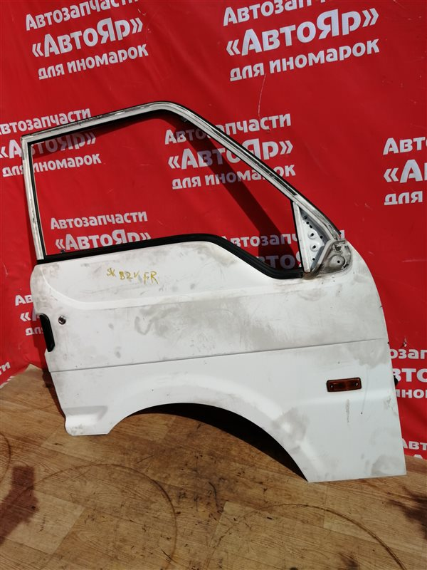 Дверь боковая Mazda Bongo SK82V F8 11.2008 передняя правая Цена в сборе, без петель. 2WD.