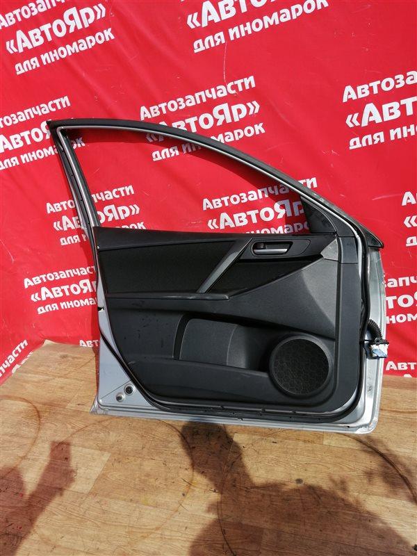 Стеклоподъемник Mazda Axela BL5FP ZY-VE 2012 передний левый