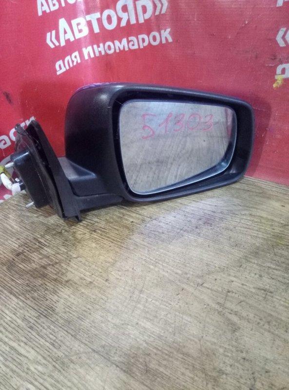 Зеркало Mitsubishi Lancer X CX3A 4B10 03.2010 переднее правое 5конт