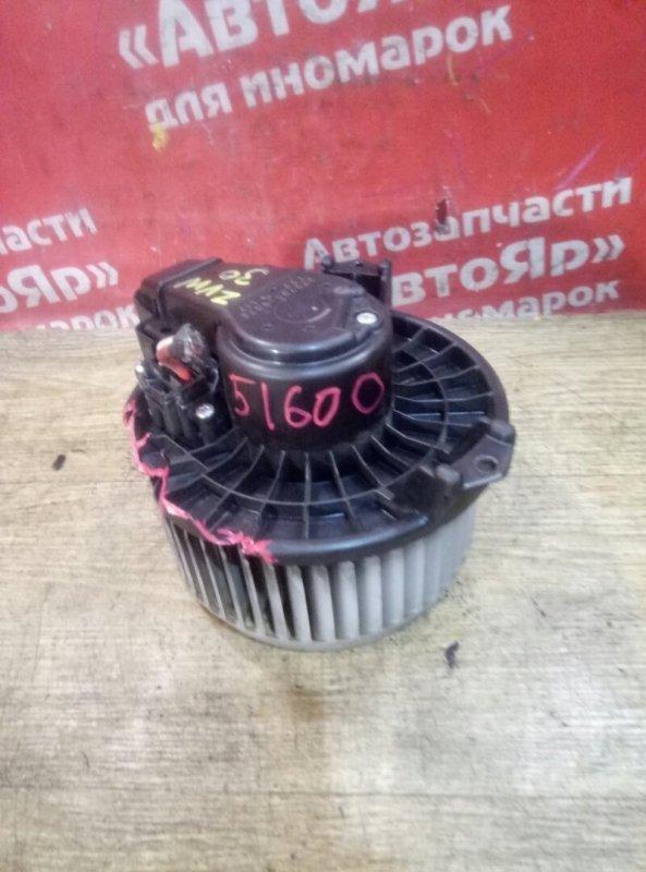 Вентилятор (мотор отопителя) Toyota Prius ZVW30 2ZR-FXE 04.2009 272700-8073, 3конт, дефект. 8710312060