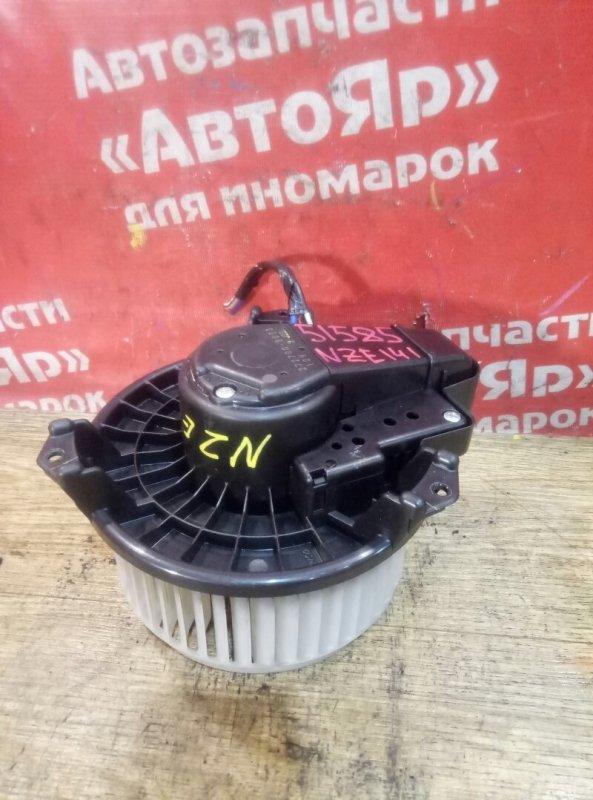 Вентилятор (мотор отопителя) Toyota Corolla Fielder NZE141G 1NZ-FE 02.2007 272700-8073, 3конт