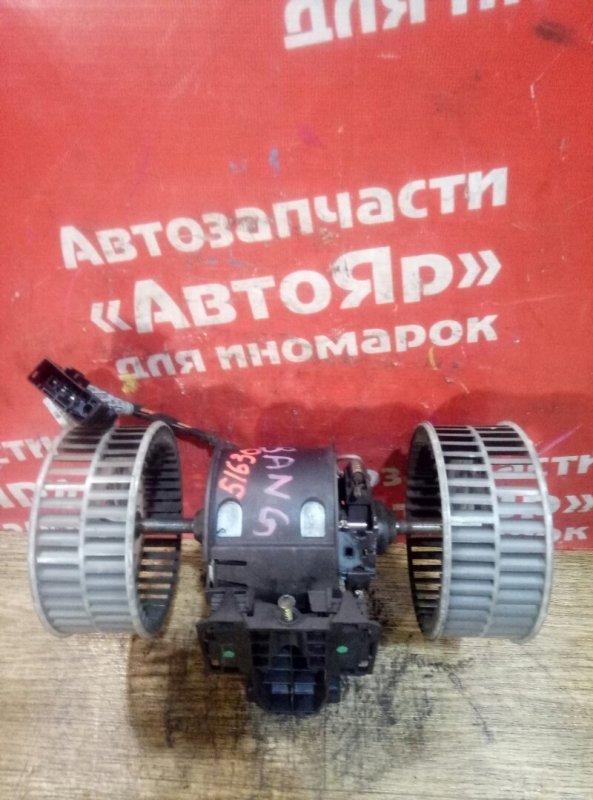 Вентилятор (мотор отопителя) Bmw 525I E61 M54B25 08.2004 6934972 дефект крыльчатки