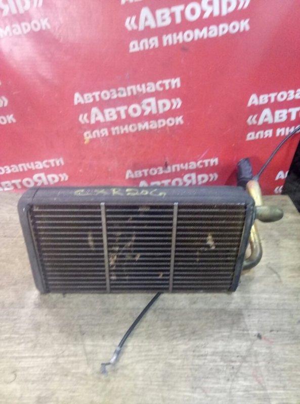 Радиатор печки Toyota Estima Emina CXR20G 3C-T 01.1993 медный