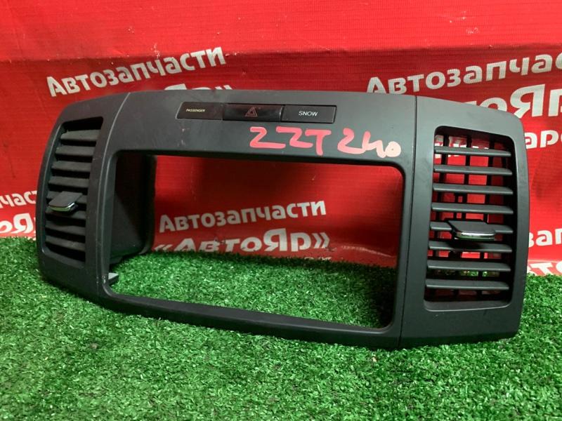 Рамка магнитофона Toyota Allion ZZT240 1ZZ-FE 03.2007