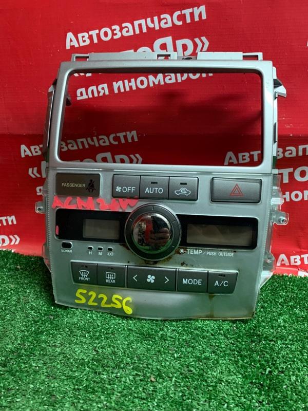 Блок управления климат-контролем Toyota Ipsum ACM26W 2AZ-FE 2005.06