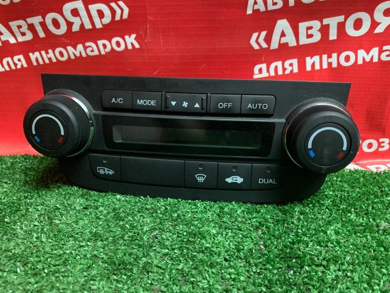 Блок управления климат-контролем Honda Cr-V RE4 K24A 2009