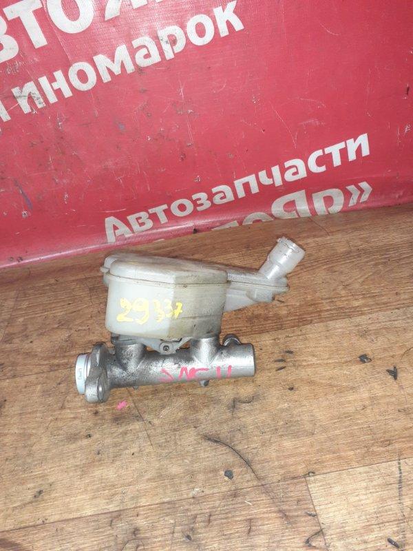 Главный тормозной цилиндр Nissan Tiida Latio SNC11 HR15DE 2005 цена без вакуумника