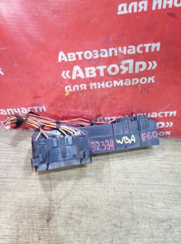 Блок предохранителей Bmw 525I E60 N52B25A 04.2005 без крышки