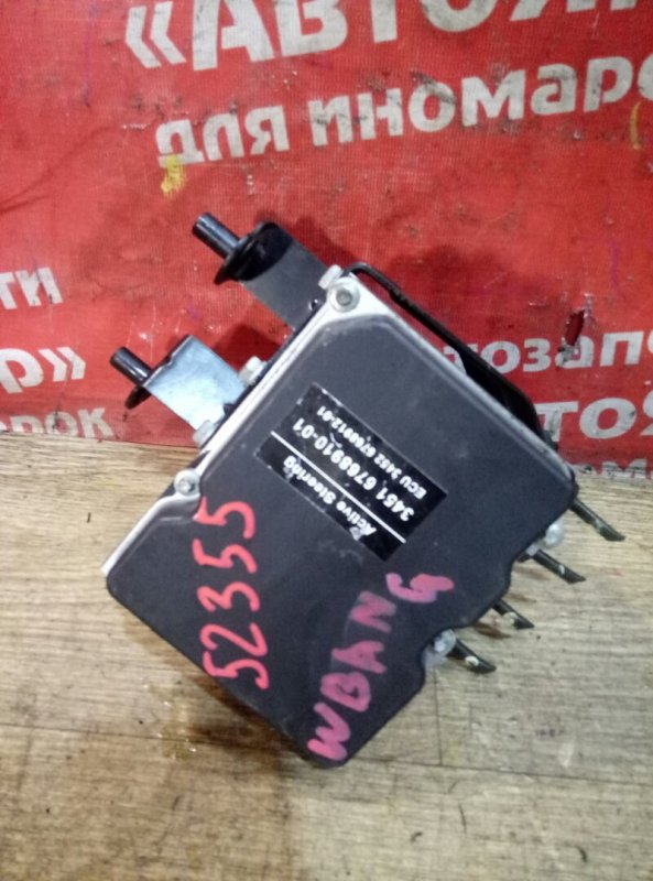 Блок abs Bmw 525I E61 M54B25 08.2004 34516768910-01/ 0265950376