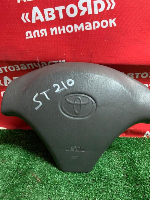 Airbag на руль Toyota Corona Premio ST210 3S-FSE 04.1999 С зарядом.
