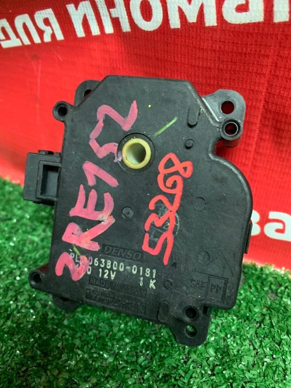 Привод заслонок отопителя Toyota Corolla Rumion ZRE152N 2ZR-FE 01.2008 063800-0181