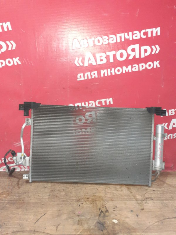 Радиатор кондиционера Mitsubishi Lancer X CY4A 4B11 03.2008