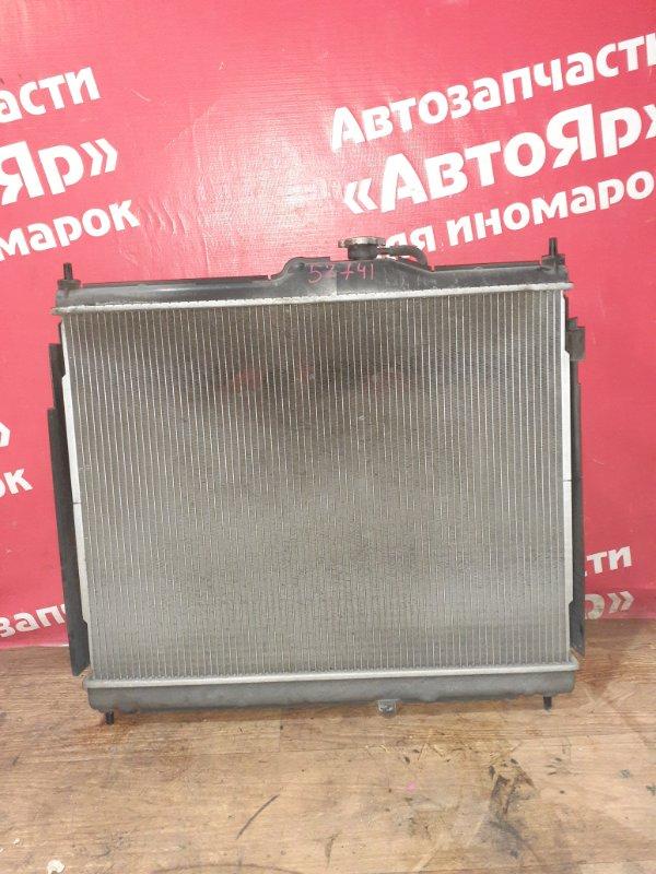 Радиатор основной Nissan Nv200 VM20 HR16DE 04.2012 в сборе, под МКПП, 21410-JX00A
