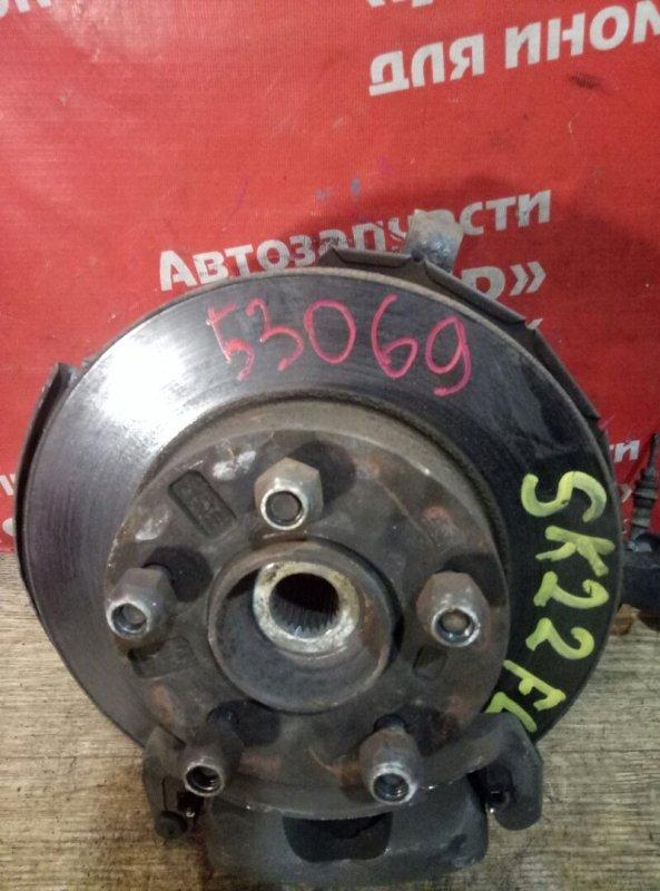 Диск тормозной Mazda Bongo SK22M R2 08.2002 передний левый