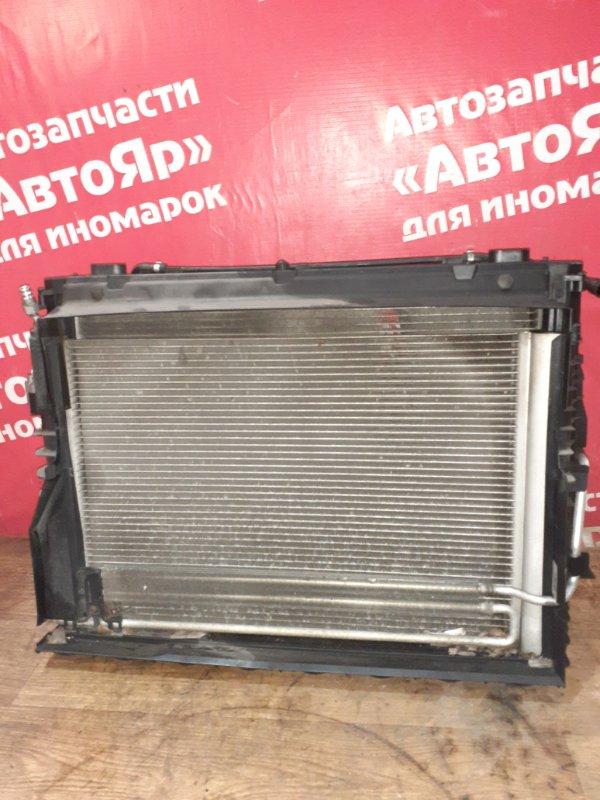 Радиатор основной Bmw 525I E61 M54B25 08.2004 кассета: радиатор основной, радиатор