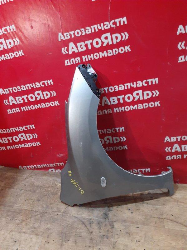 Крыло Mazda Axela BL5FP ZY-VE 2012 переднее правое с клипсой, состояние на фото