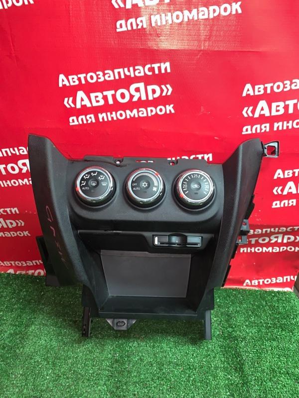 Блок управления климат-контролем Mitsubishi Asx GA3W 4B10 03.2011 вместе с блоком 8750a203