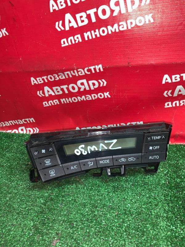 Блок управления климат-контролем Toyota Prius ZVW30 2ZR-FXE 04.2009 55900-47010