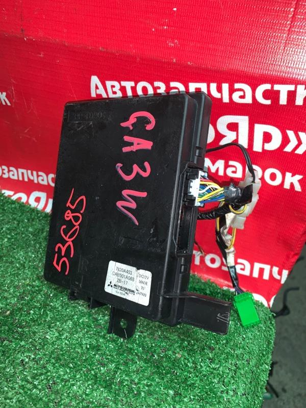 Блок управления кондиционером Mitsubishi Asx GA3W 4B10 03.2011 7820A403