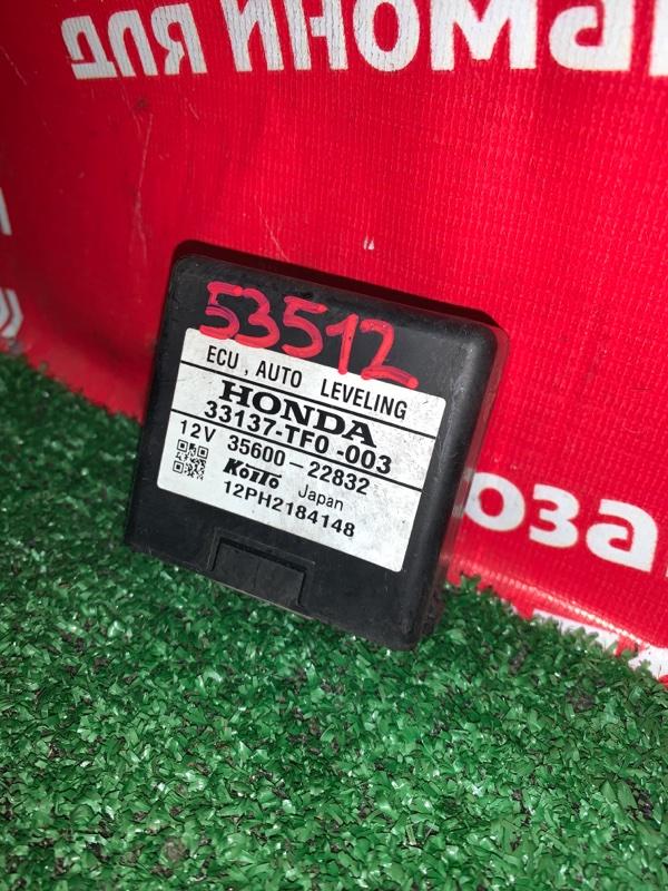 Блок коррекции фар Honda Fit Shuttle GP2 LDA 2011 33137-TF0-003