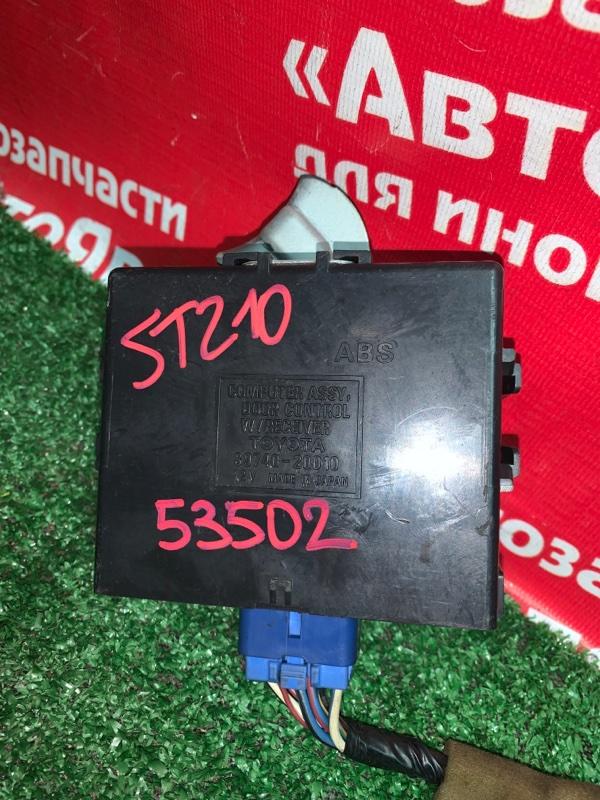 Блок управления дверьми Toyota Corona Premio ST210 3S-FSE 04.1999 89740-20010