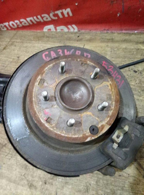 Диск тормозной Mitsubishi Asx GA3W 4B10 03.2011 задний правый