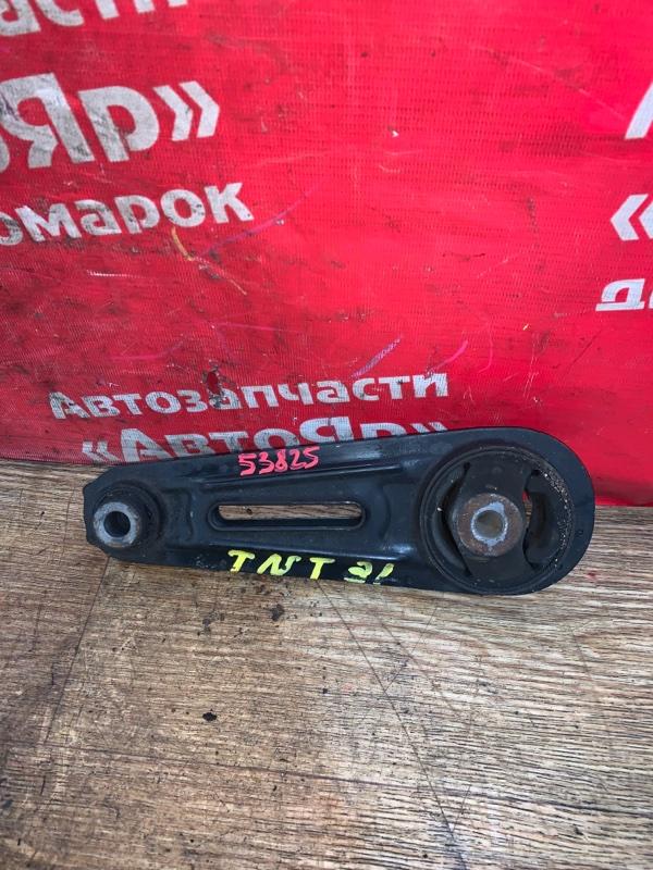 Подушка двигателя Nissan X-Trail TNT31 QR25DE 08.2007 задняя