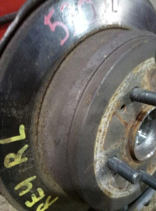 Тормозные колодки Honda Cr-V RE4 K24A 2009 заднее Стояночного тормоза с механизмом, комплект.