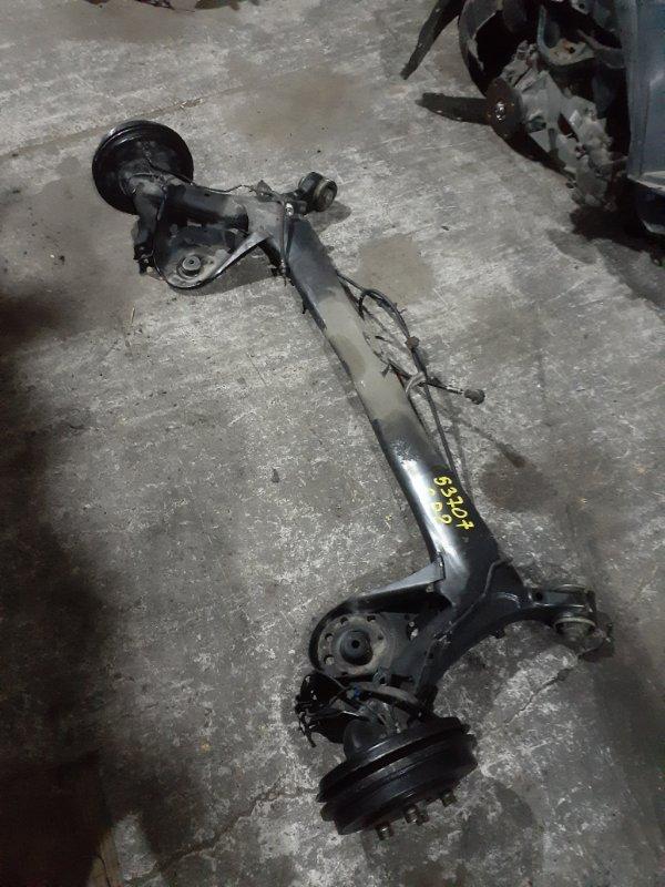 Балка поперечная Honda Fit Shuttle GP2 LDA 2011 задняя Цена в сборе.