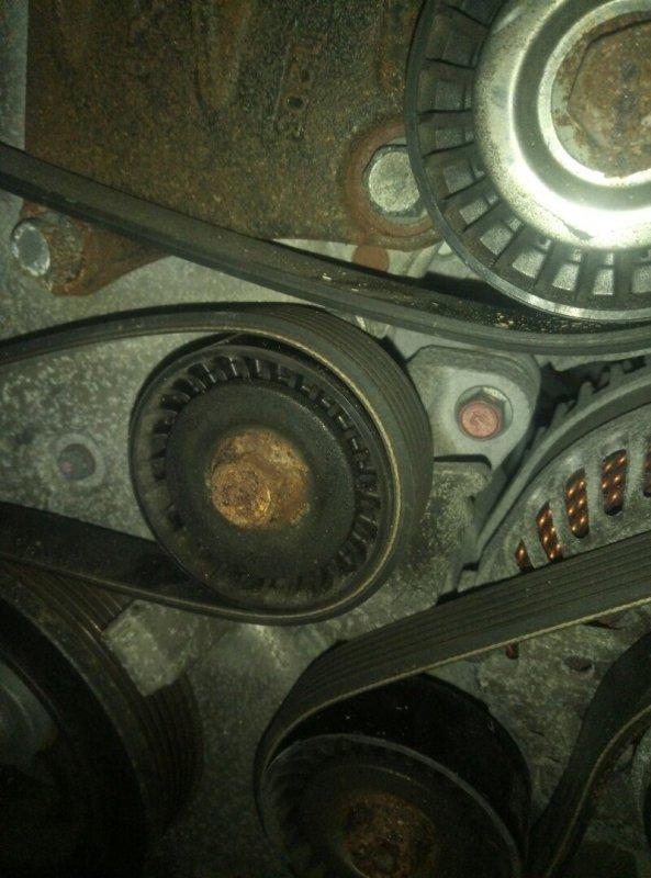 Ролик натяжной Mitsubishi Asx GA3W 4B10 03.2011 с натяжителем