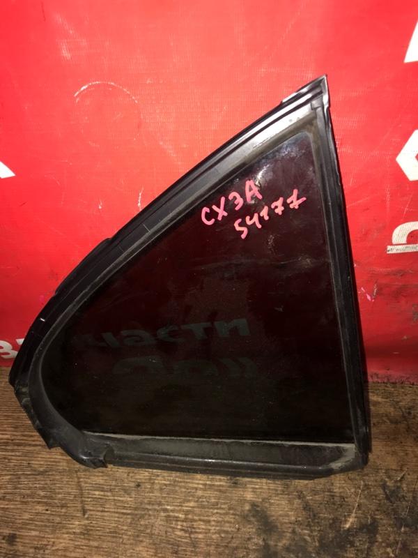 Стекло боковое Mitsubishi Lancer X CX3A 4B10 03.2010 заднее правое Форточка