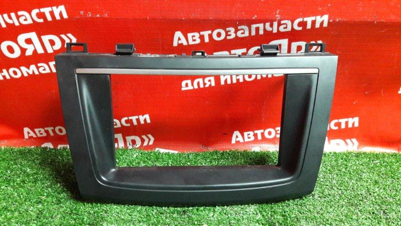 Рамка магнитофона Mazda Axela BL5FP ZY-VE 2012 BHB6-55231