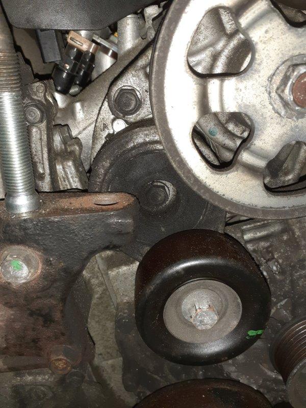 Ролик натяжной Honda Cr-V RE4 K24A 2009 с натяжителем