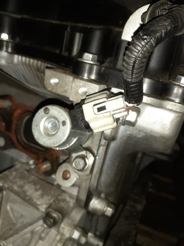 Клапан vvti Mitsubishi Lancer X CX3A 4B10 03.2010 1028A022