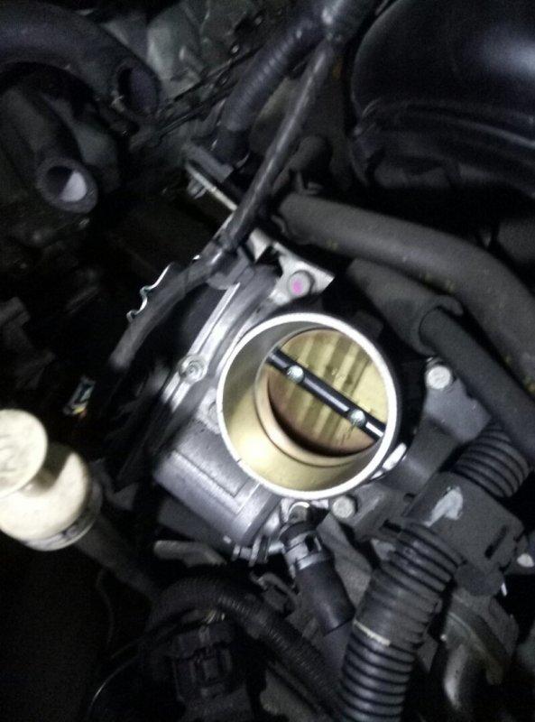 Заслонка дроссельная Mitsubishi Lancer X CX4A 4B11 12.2008 1450A101