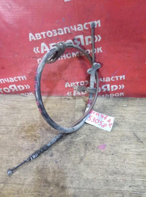 Тросик ручника Toyota Regius RCH47W 3RZ-FE 10.1999 задний правый